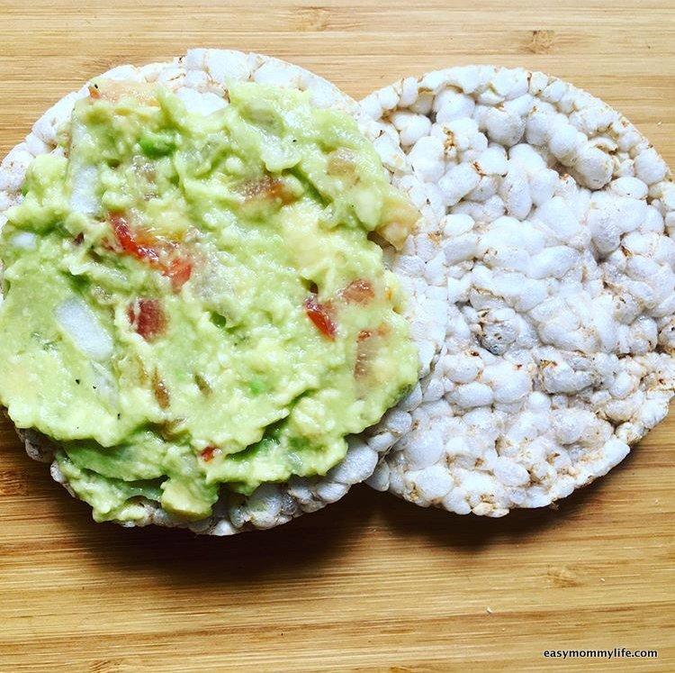 Teething foods-rice cracker