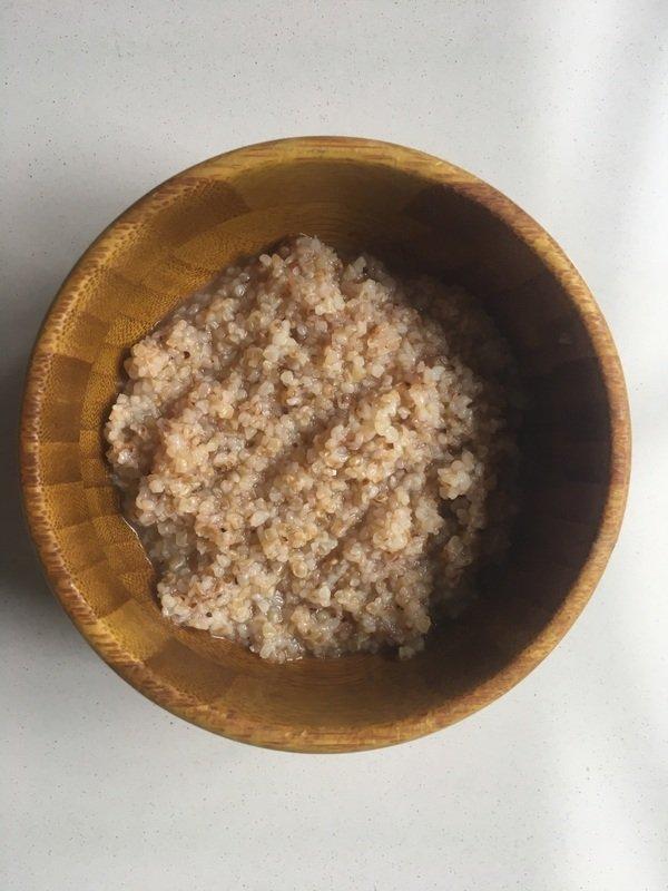 Dalia-roasted wheat-porridge