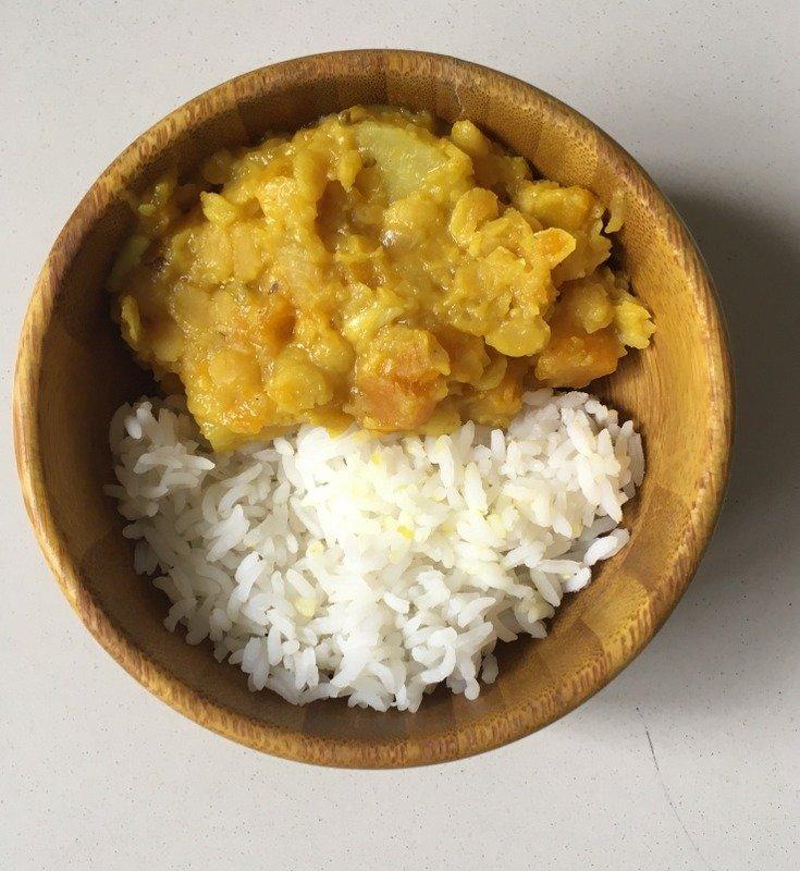 Healthy-Dal-Sweet Potato-Rice