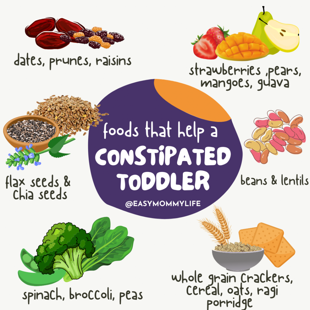 foods that relieve constipation in babies and toddlers