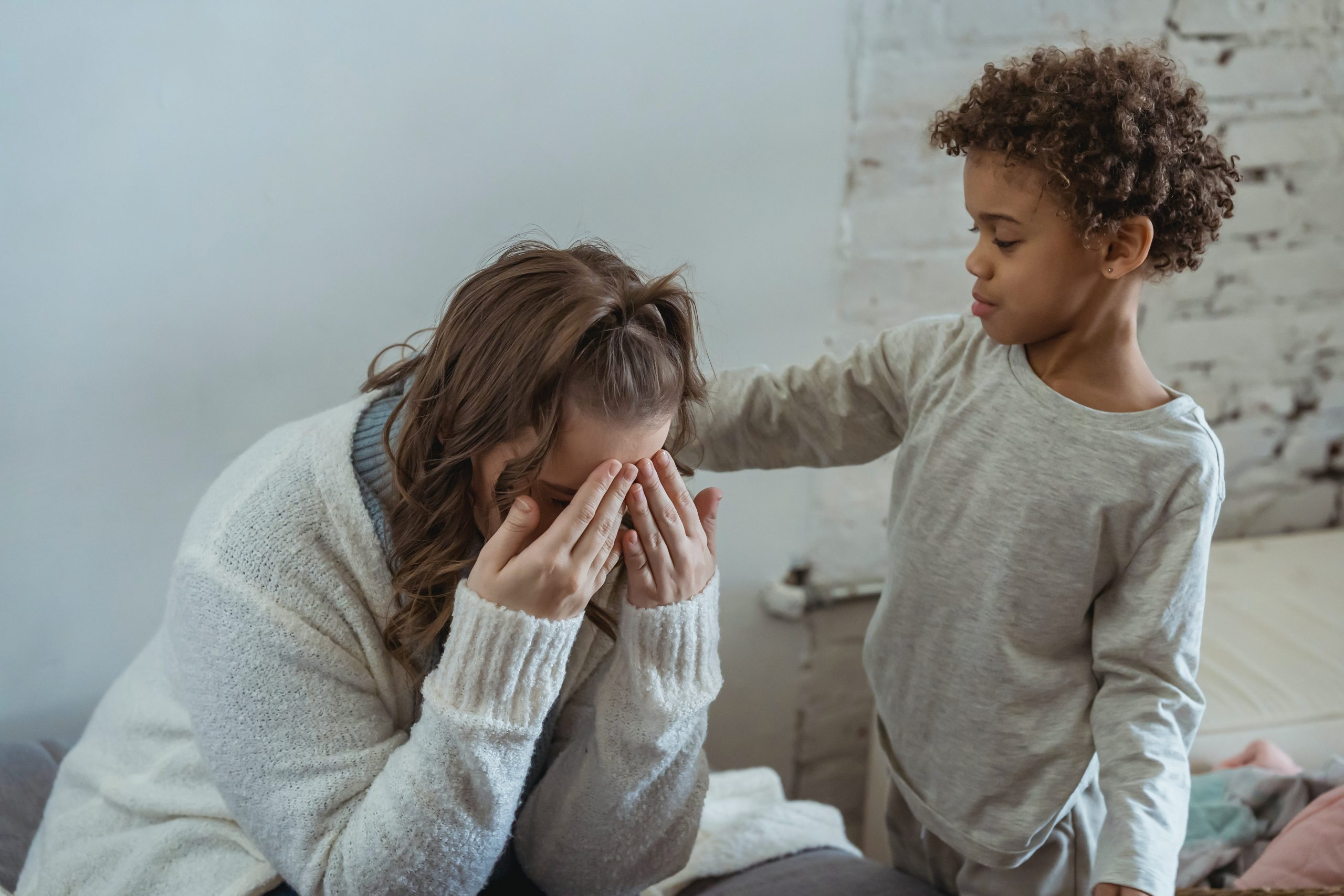 gentle parenting when you don't feel okay